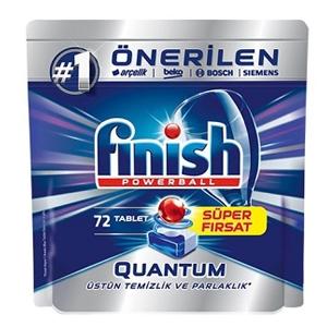 قرص ماشین ظرفشویی کوانتوم ۷۲ تایی فینیش (Finish)