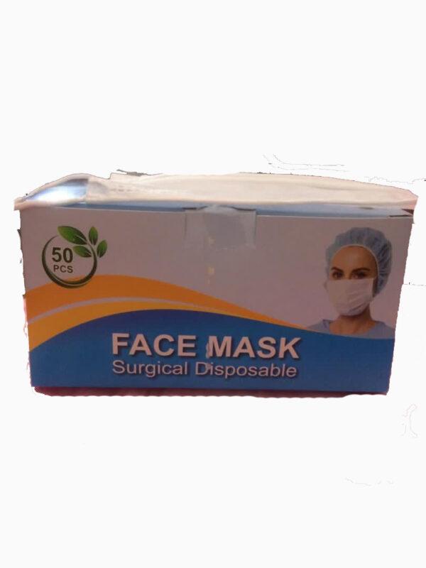 ماسک پزشکی سه لایه 50 عددی